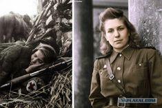Военные фото в цвете.