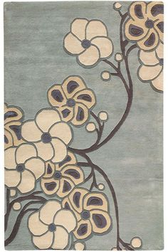 Serenity I Rug  Give Your Floors a Serene Touch with This Modern Area Rug  Item # 03776 - also in green