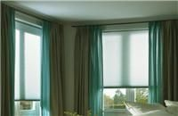 Cortinas Duette® - Cortina doble con celdas interiores de estética refinada y exclusiva. [bedroom blinds curtains deco decoration decoración interiorismo habitación cuarto]