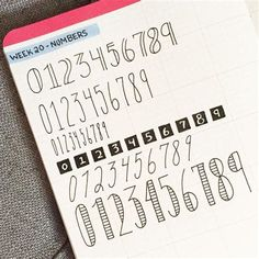 Bullet Journal Fonts for Numbers - Bullet Journal Fonts for Numbers You are in the right place about Bullet Journal Fonts for Numbers - Bullet Journal Police, Bullet Journal Numbers, Bullet Journal Headers, Journal Fonts, Bullet Journal Lettering Ideas, Bullet Journal Notebook, Bullet Journal Ideas Pages, Bullet Journal Inspiration, Diy Cahier