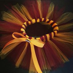 Washington Redskins baby girl tutu and headband by CharmingChassys