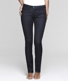 Take a look at this Dark Evening Shaper Skinny Jeans - Women by Yummie by Heather Thomson on #zulily today!