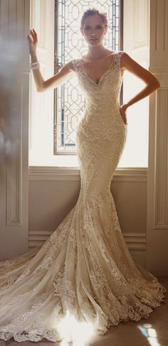 Stunning lace gown!