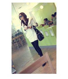 New Fashion Korea Women Hoodie Fleece Jacket Coat Warm Outerwear Hooded Zip