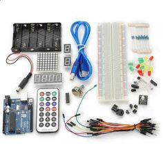 DIY Basic Starter Kit for Arduino - Deep Blue   Multicolored. This kit walks you through the basics of using the Arduino in a hands-on way. You'll learn through building several creative projects. Starting the basics of electronics, to more complex projects, the kit will help you control the physical world with sensor and actuators.. Tags: #Electrical #Tools #Arduino #SCM #Supplies #Kits