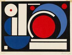 Auguste Herbin, Un, 1949