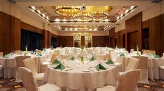 Elegant ballroom at Westin Sohna Resort and Spa.
