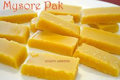 Tasty Appetite: MYSORE PAK RECIPE / HAPPY MOTHERS DAY / GHEE MYSORE PAK RECIPE / EASY DIWALI SWEETS