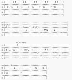 10 Easy Guitar Solos and How To Play Them Guitar Chords And Scales, Guitar Chords And Lyrics, Music Theory Guitar, Guitar Chords Beginner, Guitar Chords For Songs, Guitar Sheet Music, Guitar Solo, Guitar For Beginners, Learn Acoustic Guitar