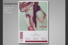 Multipurpose Magazine Template by rudiSasori on @creativemarket