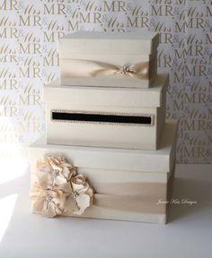 Wedding Card Box Money Gift Holder By Jamiekimdesigns