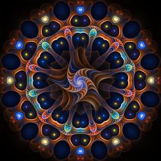 A Kaleidoscope of colors in perfect geometrical form !!!