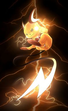 Raichu by ~RashanaMoonfire on deviantART