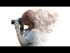 Tutorial Photoshop CS6 english - Disintegration and dispersion effect - how to create an effect that disintegrates the subject of your photo in small particl...