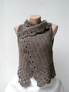 vest by crochetbutterfly, via Flickr  view page for the rest of the collection