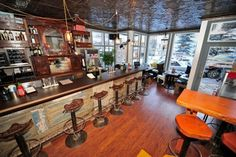 There Bar, Telluride CO || go for the martinis, stay for the popcorn and jam drinks!
