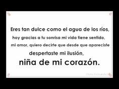 Karlos Rose - Niña De Mi Corazón  ( LETRA ) - YouTube
