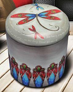 Small Storage, Ottoman, Lisa, Make It Yourself, Garden, How To Make, House, Collection, Decor