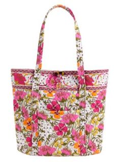 VERA in TEA GARDEN / 10% of Vera Bradley's net proceeds from the sale of products in Tea Garden will be donated to the Vera Bradley Foundation for Breast Cancer and other breast cancer projects and services.