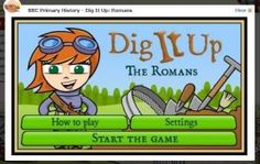Ch1: Dig It Up: Romans.    Cute game that has students excavating a Roman site. Very informative.