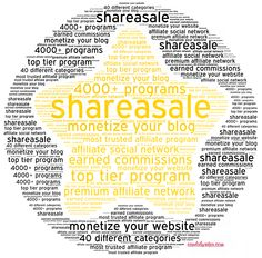 Join Shareasale The Best In Affiliate Networking Programs For Blogs And Websites To Make Money Online #money