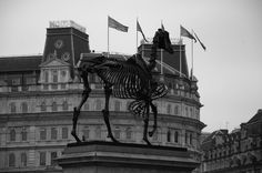 https://flic.kr/p/FDoYtB | Sculpture, Trafalgar Square, London WC2, 15th March 2016