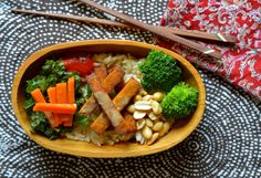 Coconut Red Curry Rice Bowl Recipe (Vegan)