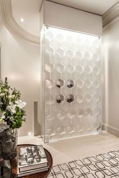 """modern home Switchable Privacy Glass Wine Cellar - """"Translucent State"""" Window Treatments, Wine Glass, Wine Trend, Glass, Modern House, Modern, Wine Fridge, Glass Wine Cellar, Privacy Glass"""