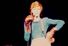 """aladdin-stardust: """"Performing during the Diamond Dogs tour, 1974 """""""
