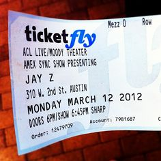 Thank you American Express! #SXSW #jayz