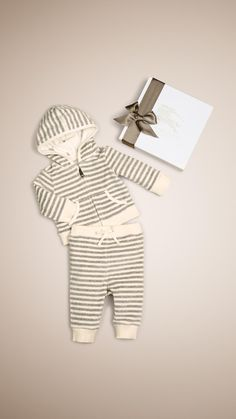 Baby Hooded Top Set | Burberry
