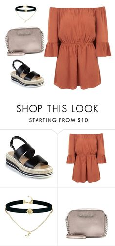 """""""Untitled #346"""" by xjustinv on Polyvore featuring Prada, Topshop, ASOS and MICHAEL Michael Kors"""
