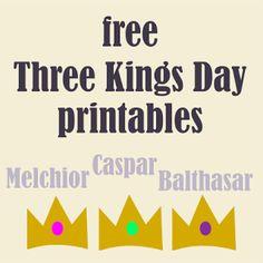 Free printable Three Kings craft - Heilige Drei Könige Druckvorlagen - round-up   MeinLilaPark – DIY printables and downloads