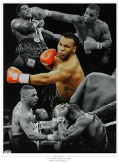 Mike Tyson Boxing, Sport Boxing, Boxing Posters, Double Life, Muhammad Ali, World Of Sports, Saving Money, Authenticity, Certificate