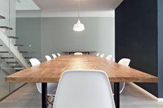 Resultado de imagem para mesa de jantar estilo industrial