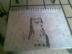 dibujo de doflamingo