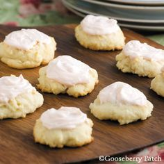 Gooseberry Patch Recipes: Italian Cheese Cookies made with ricotta cheese.