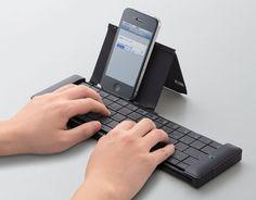 universal bluetooth pocket keyboard by elecom
