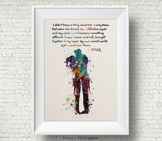 Joker and Harley Quinn Inspired Quote Colorful 1 by IvanHristov