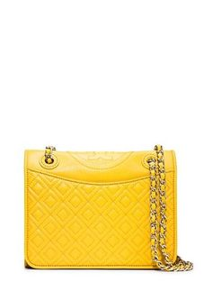 9e5ad3a8990d Tory Burch Fleming Patent Medium Bag Designer Handbag Brands