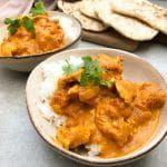 Indisk butter chicken Pepper Steak, Chicken Tikka Masala, Garam Masala, Steak Recipes, Thai Red Curry, Instant Pot, Slow Cooker, Stuffed Peppers, Ethnic Recipes