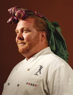 """This picture of Mario Batali was taken from a very cool book called """"My Last Supper"""" by Melanie Dunea. It contains """"last meal"""" recipes from 50 great chefs and some rocking pics! Chef Recipes, Food Network Recipes, Amazing Photography, Portrait Photography, Food Photography, Chefs, Grilled Octopus, Mario Batali, Italian Chef"""
