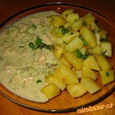 Slovak Recipes, Czech Recipes, Ethnic Recipes, No Salt Recipes, Chicken Recipes, Cooking Recipes, Good Food, Yummy Food, Special Recipes