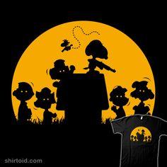 Zombie Snoopy T-shirt