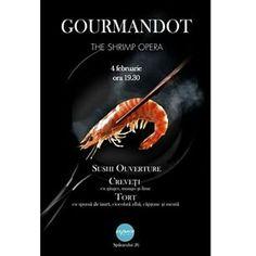 Gourmandot - The Shrimp Opera. Live cooking show Wine Tasting, Sushi, Shrimp, Lime, Cooking, Opera, Kitchen, Limes, Opera House