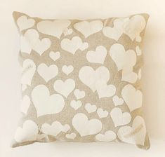 DIY Anthropologie Inspired Heart Collector Pillow