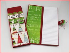 Project: Holiday Note Pad Holder · Stamping | CraftGossip.com