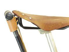 Bicycle U-Lock Holster Tan Leather