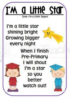 i'm a little star graduation song