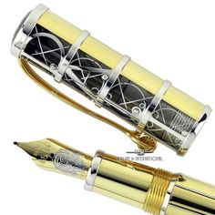 MONTBLANC SALVADOR DALI L.E. OF 100 FOUNTAIN PEN - SOLID GOLD!! #Montblanc